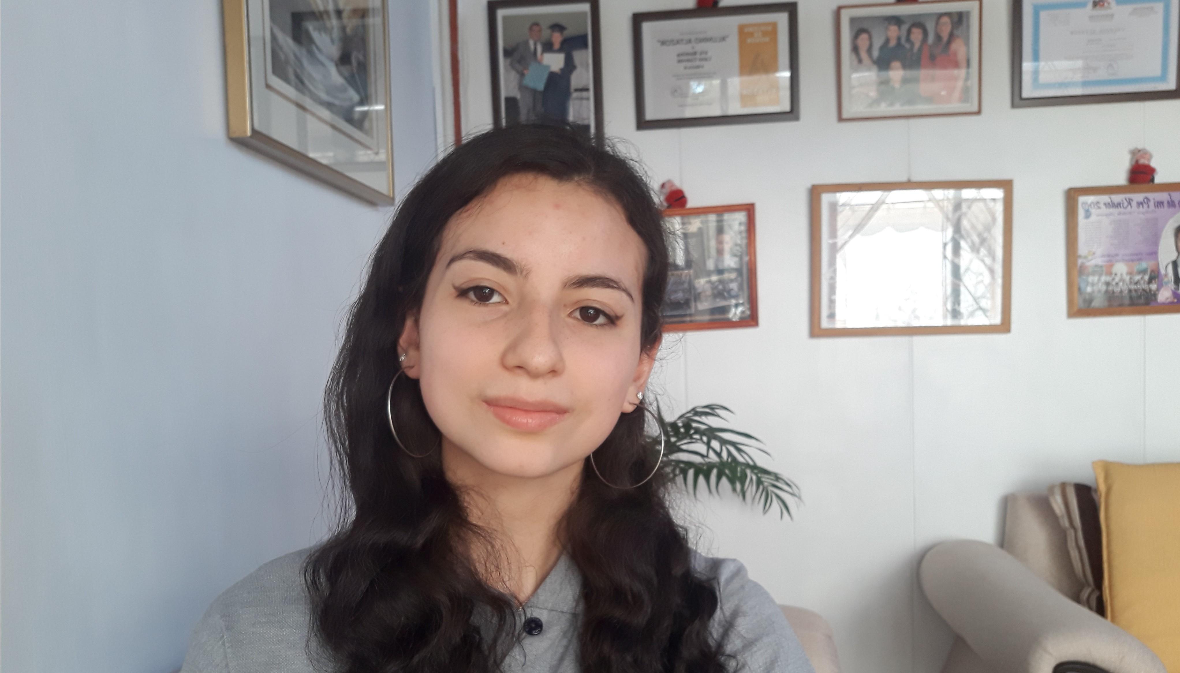 Felicitaciones a nuestra estudiante Iris Lazo